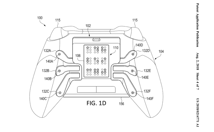 Microsoft Files Patent for Xbox Braille Controller